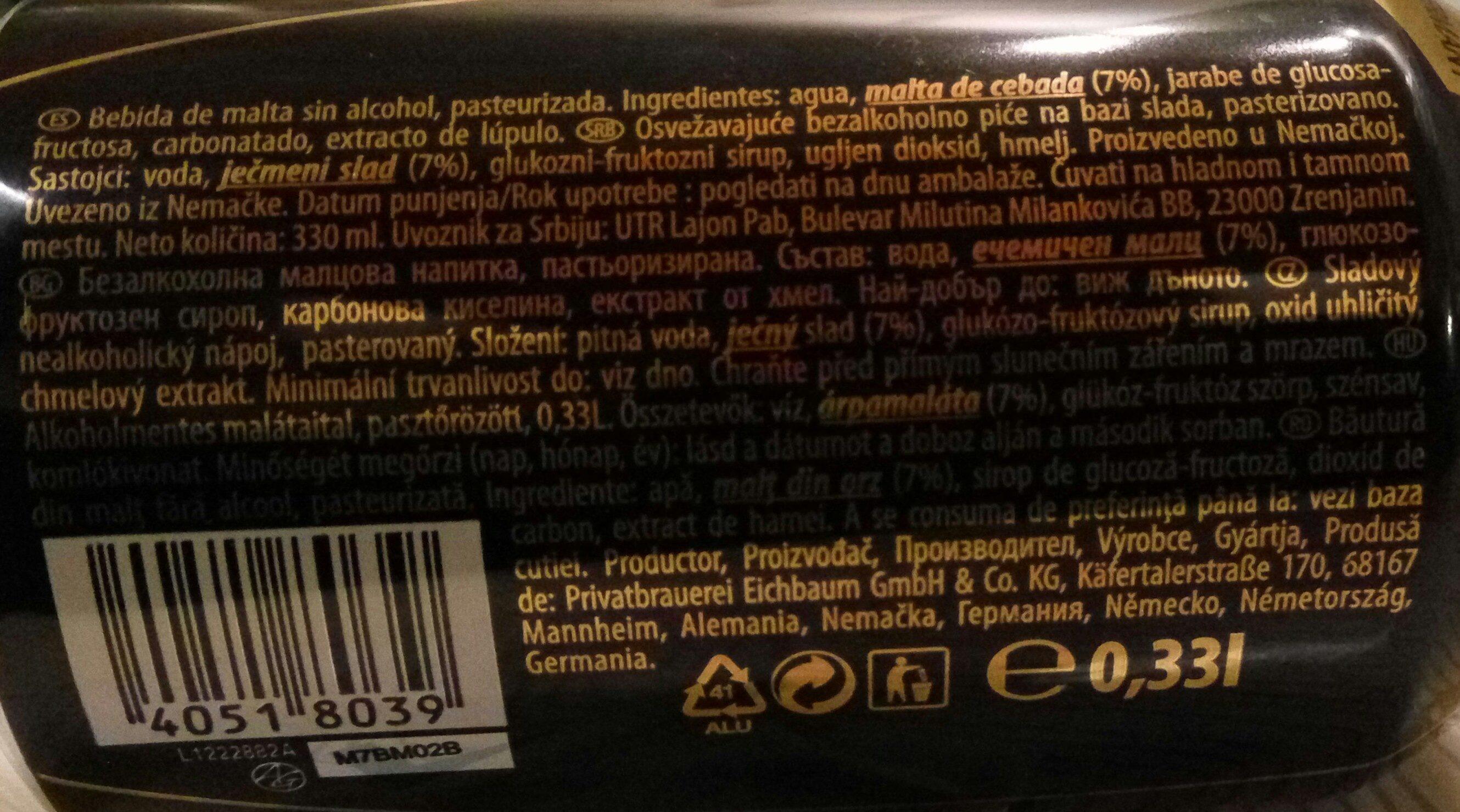 Karamalz - Ingrédients - hu