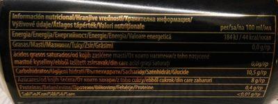 Karamalz - Informations nutritionnelles - hu