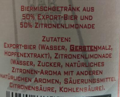 Henninger Radler - Ingrediënten