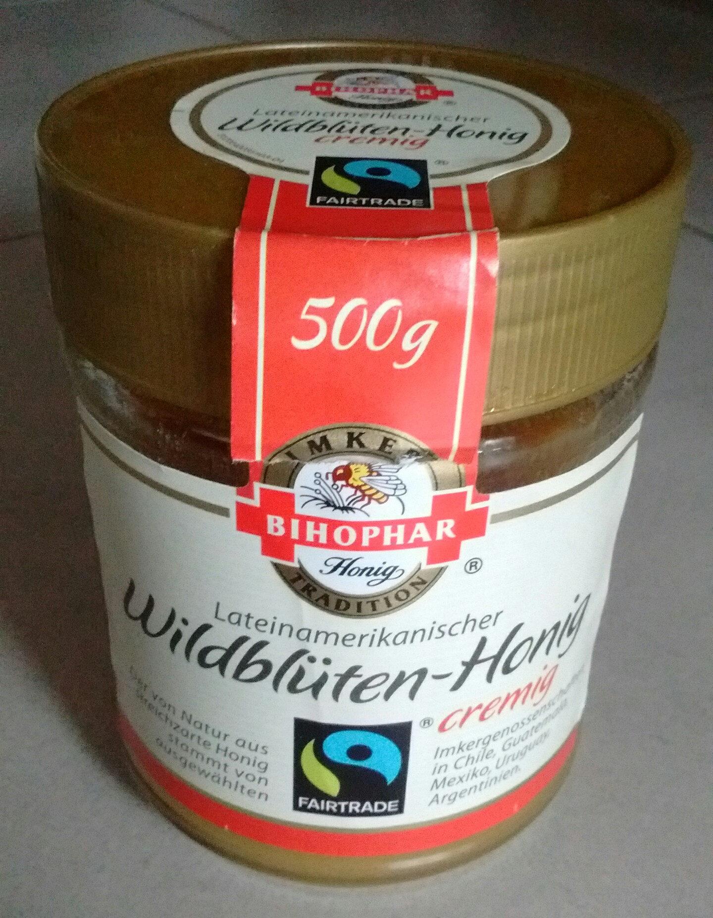 Wildblüten-Honig creming - Produkt