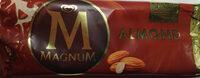 Lody z wanilią z Madagaskaru w polewie z mlecznej czekoladzie 28% i migdałami 5% - Производ - pl