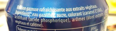 Soda - Ingredientes