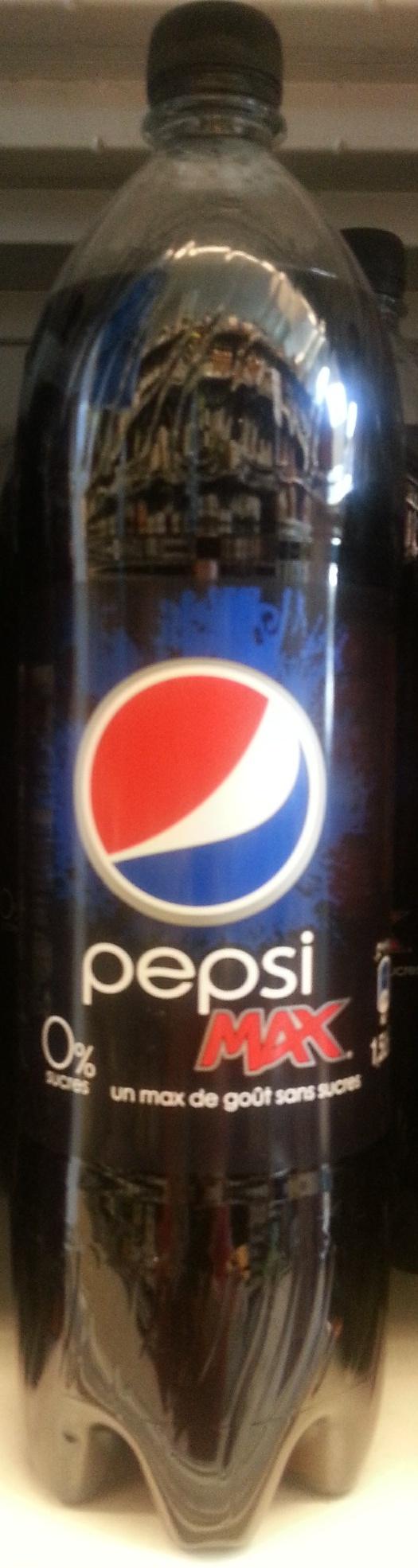 Pepsi Max NO SUGAR - Produit