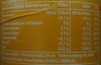 mirinda orange - Voedingswaarden - de