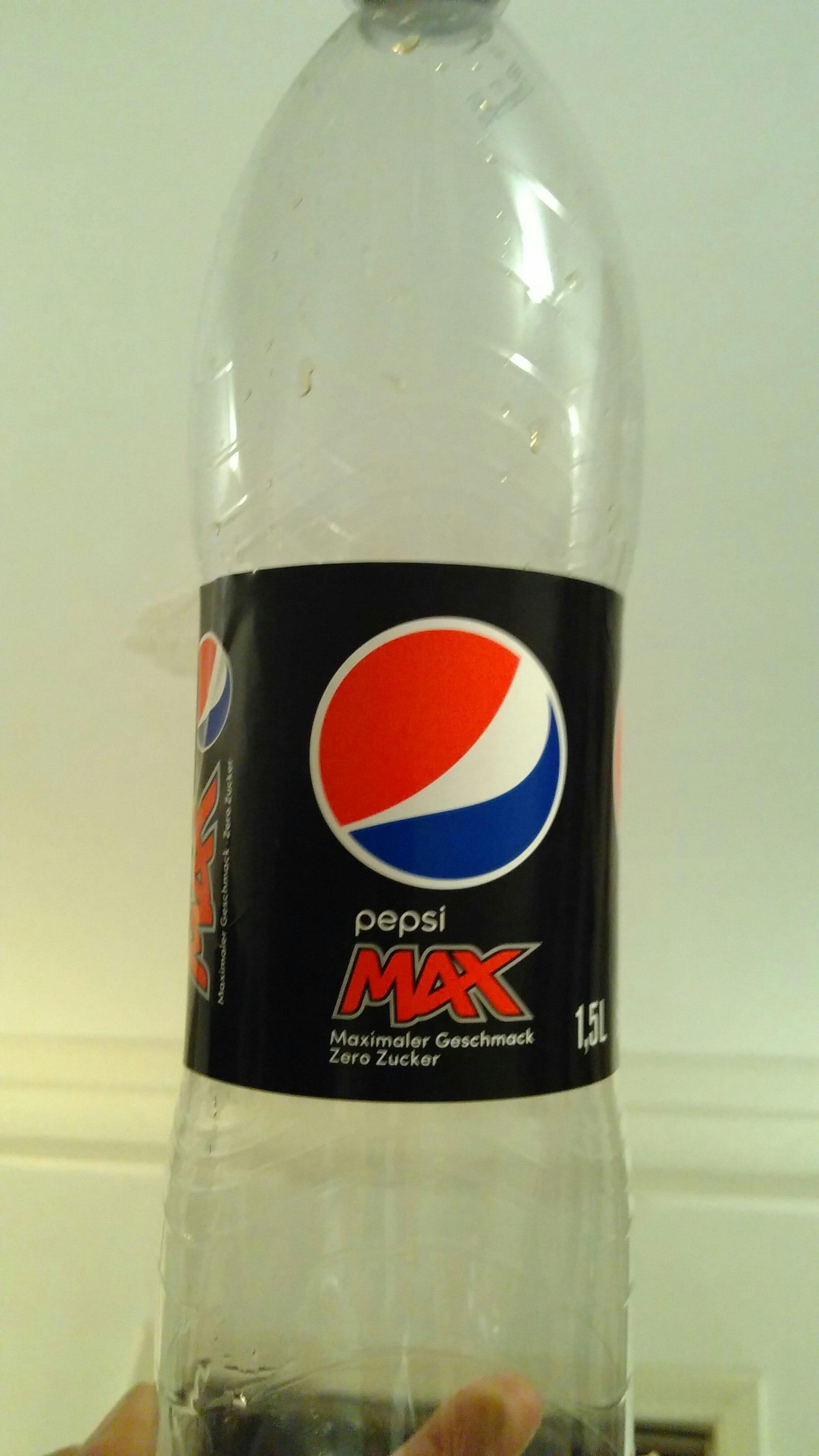 pepsi MAX - Produit
