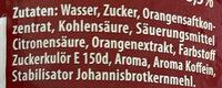 Schwip Schwap, Cola   Orange - Ingredients - de