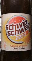 Schwip Schwap Cola + Orange Ohne Zucker - Product