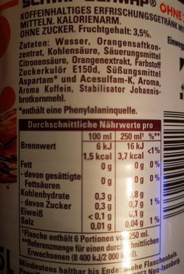 Schwip-Schwap - Ingrediënten - de