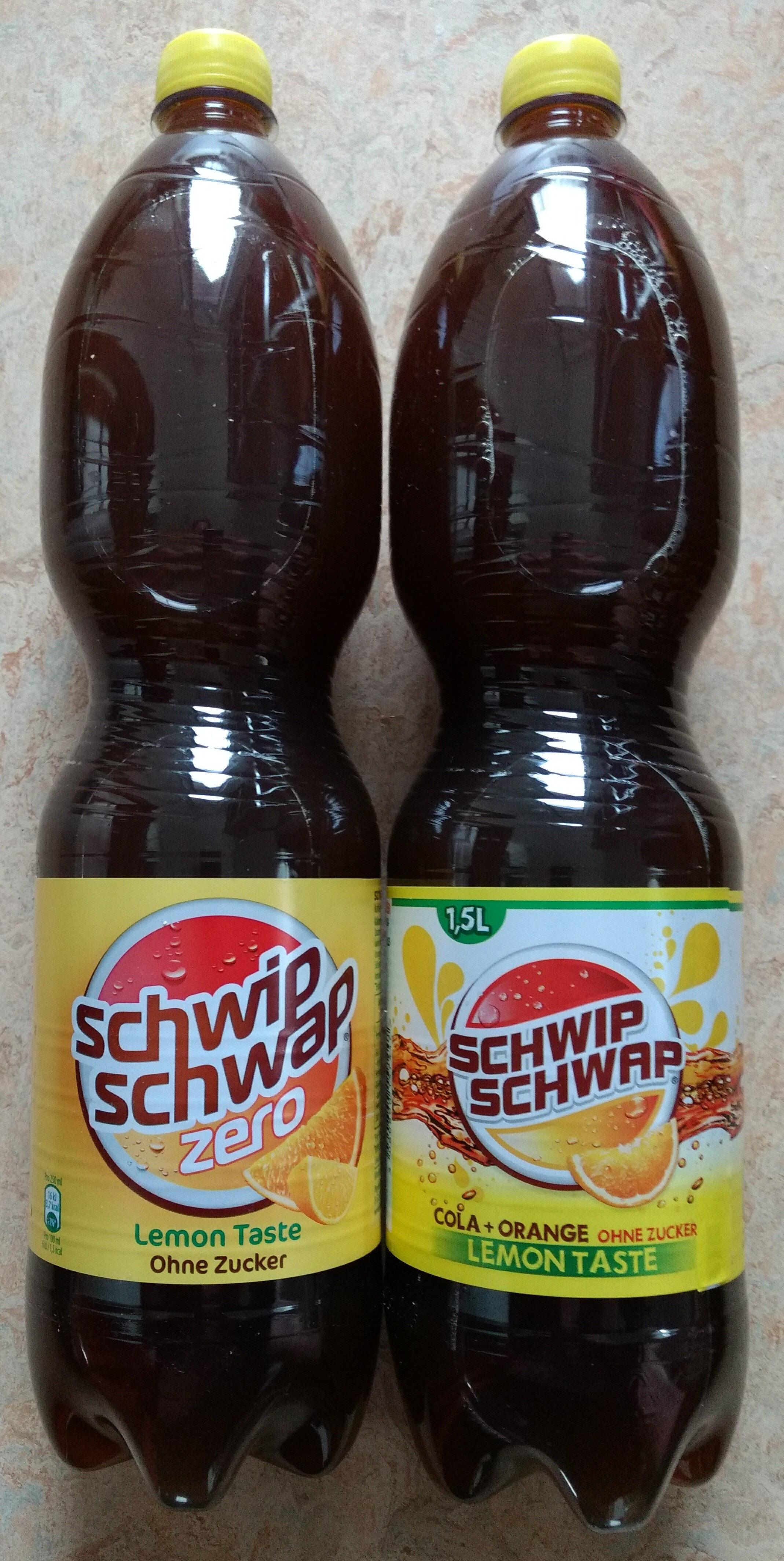 Schwip Schwap Cola + Orange Lemontaste ohne Zucker - Product