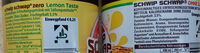 Schwip Schwap Cola + Orange Lemontaste ohne Zucker - Ingredients