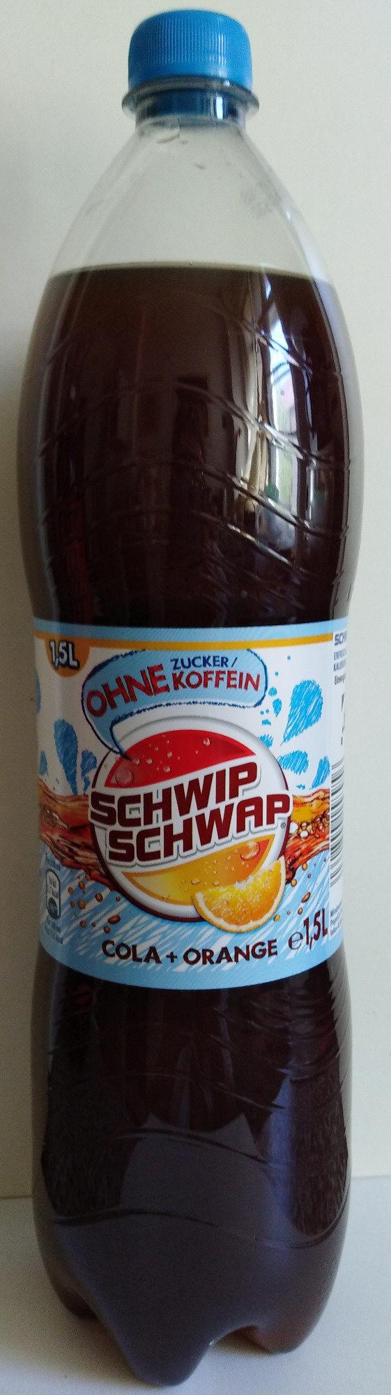 Cola + Orange ohne Koffein - Product