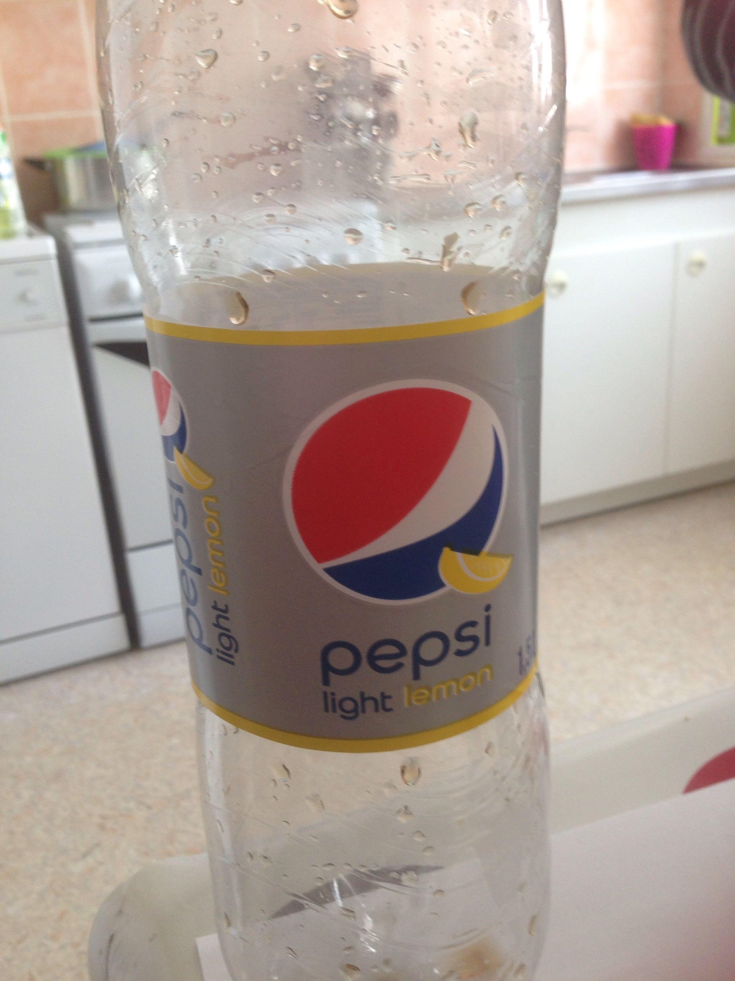 Pepsi light lemon - Product - fr