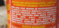 Rockstar Juiced Energy + Juice 500ML Dose - Zutaten - de