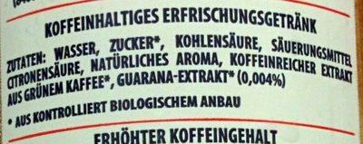 Organic Strawberry Flavour - Zutaten - de