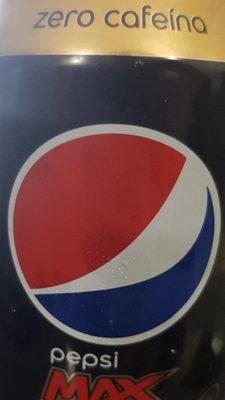 Pepsi Max sans cafeine - Produit - fr