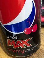 Pepsi max cherry - Prodotto - en