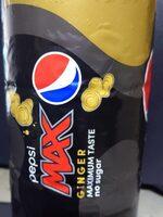 Pepsi Max Ginger 2l - Produit - en
