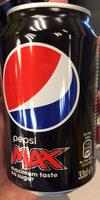 Pepsi Max - Prodotto - fr