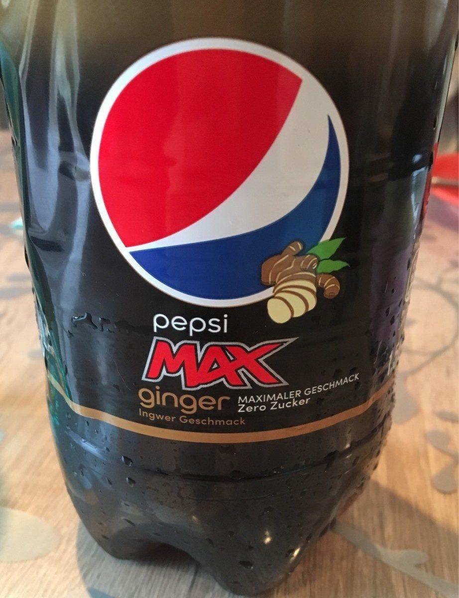 Pepsi max ginger - Produit - fr