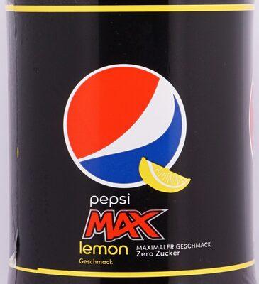 Pepsi Max Lemon - Produit - de