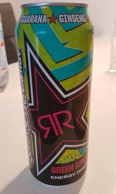 Rockstar Super Sours Energy Drink Green Apple 500ML Dose - Prodotto