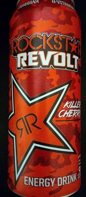 Rockstar Revolt Killer Cherry 12 X 0,5L Inkl. 3? DPG Pfand - Produkt - de
