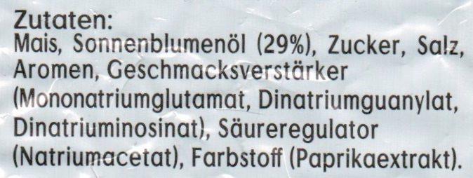 Bugles Original - Ingrediënten - de