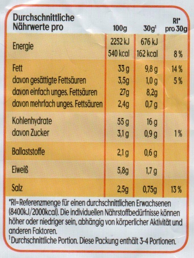 Bugles Original - Voedingswaarden - de