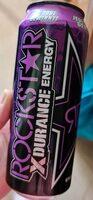Rockstar xdurance energy grape - Produit - de