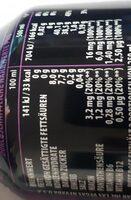 Rockstar xdurance energy grape - Valori nutrizionali - de