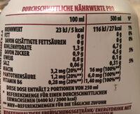 Mixed Berries - Voedingswaarden - de