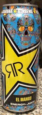 Rockstar Baja Juiced Energy El Mango - Produkt - de