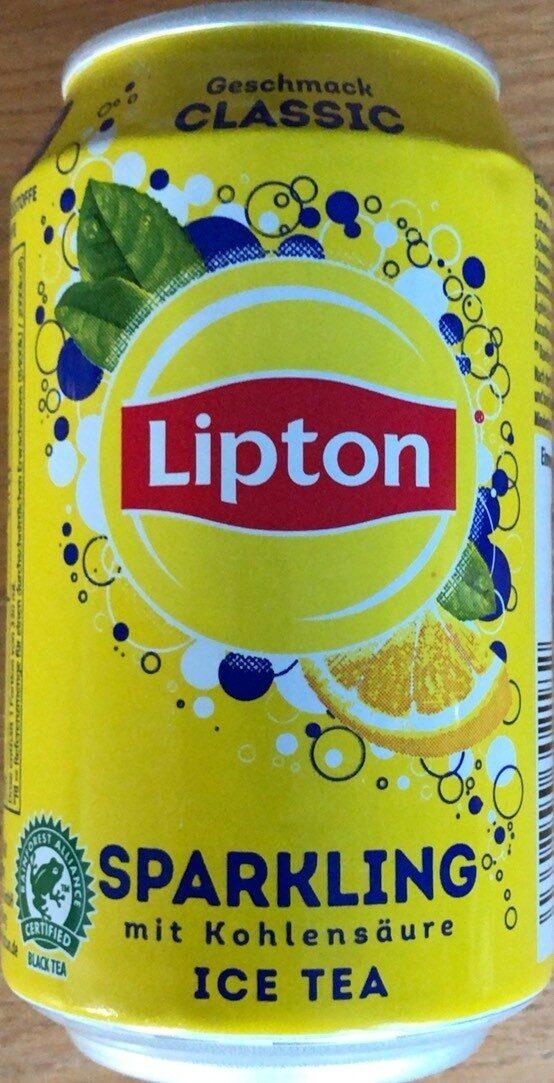 Sparkling mit Kohlensäure ice tea - Product - de