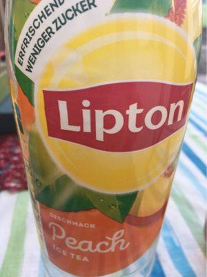 Lipton ice tea Peach - Produit - fr