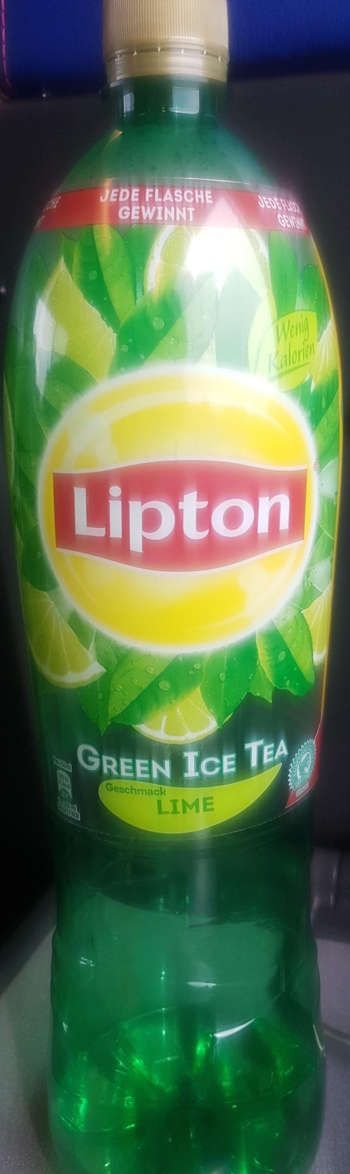 Lipton Green Ice Tea Lime - Product - en