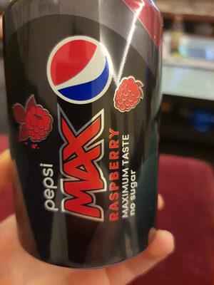 Pepsi MAX Raspberry - Product - en