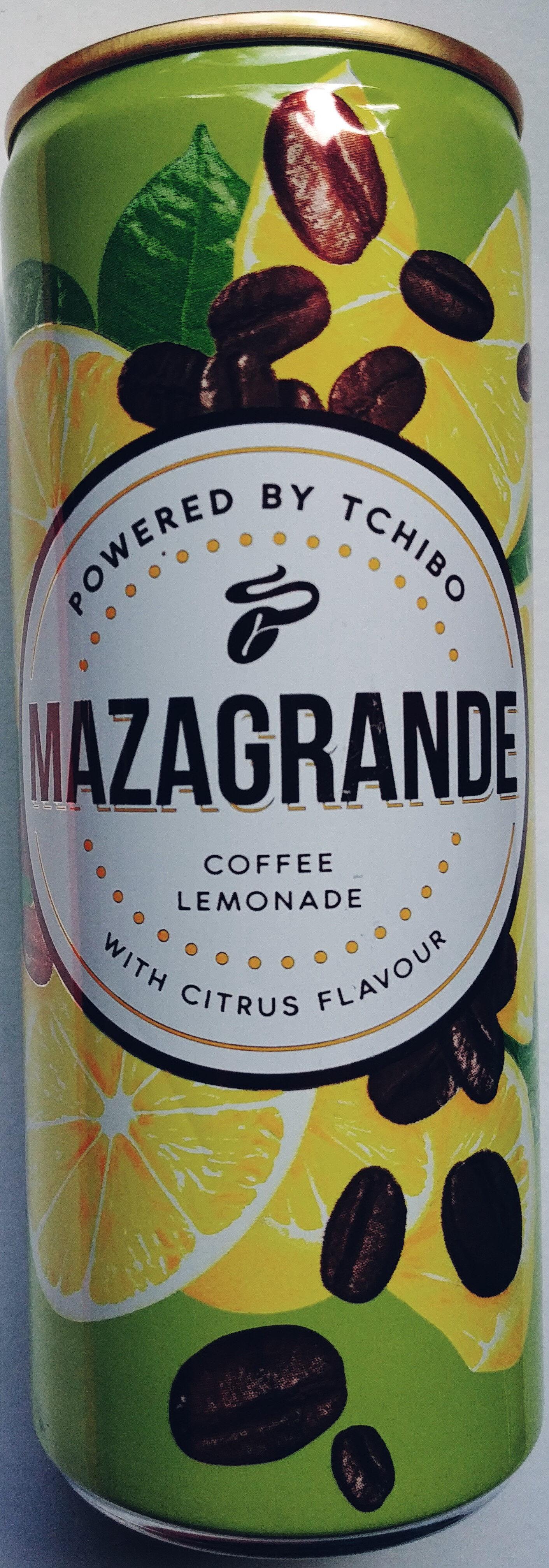 Napój gazowany, bezalkoholowy z ekstraktem z kawy o smaku cytrynowym - Produkt - pl