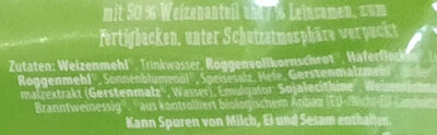 Brötchen Krustenspitz - Ingrediënten - de