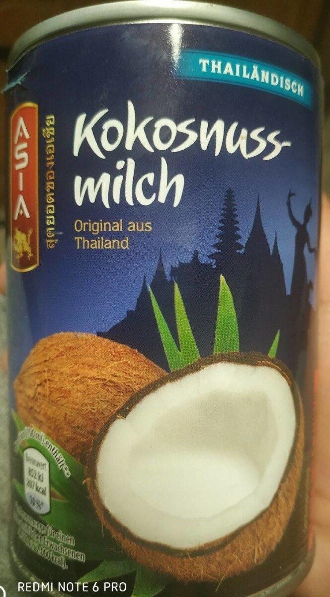 Kokosnuss-milch - Produit - fr