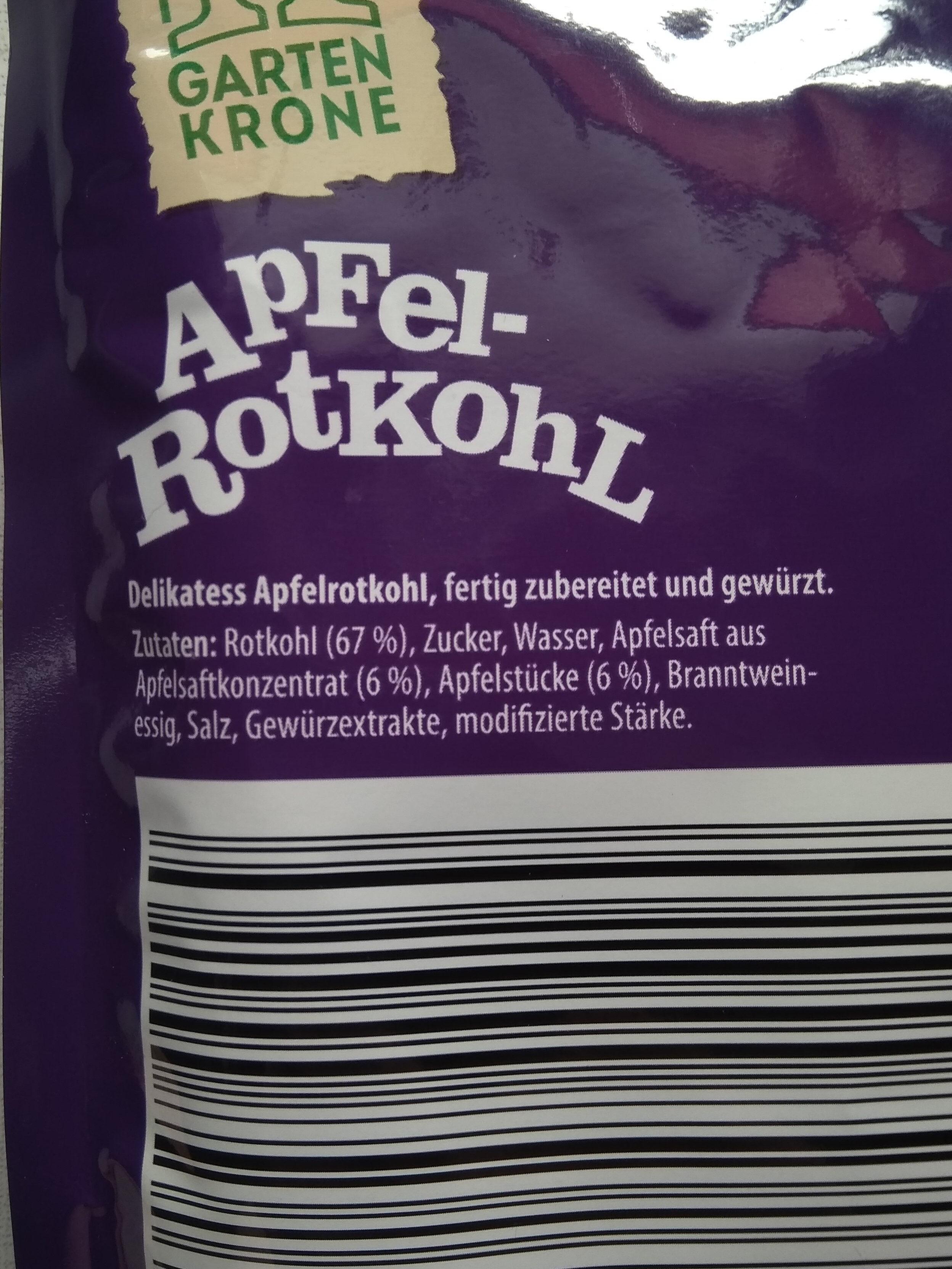 Apfel-Rotkohl - Ingredients - de