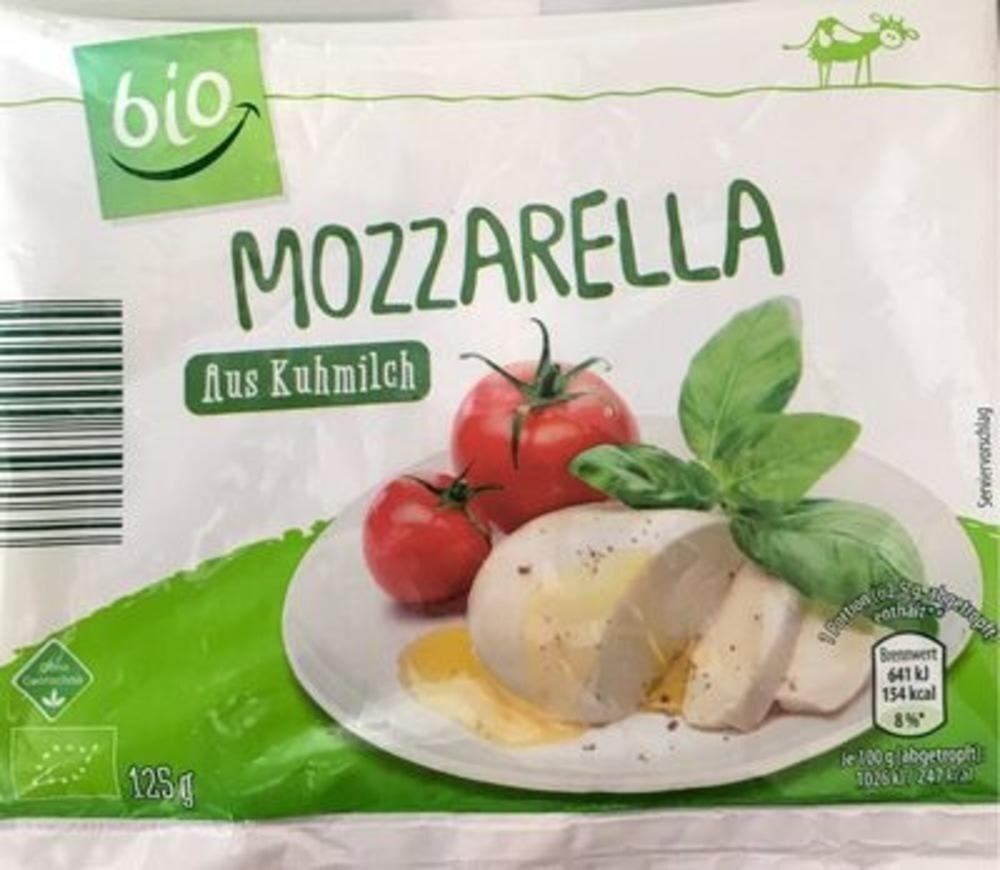 Mozarella aus Kuhmilch - Produit - de