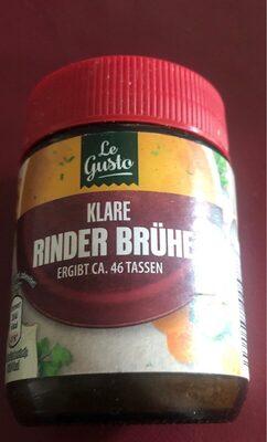 Klare Rinder Brühe - Product - en