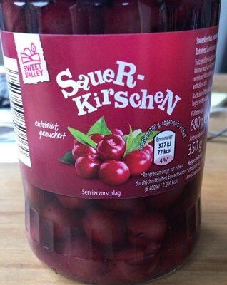 Sauerkirschen - Product - en