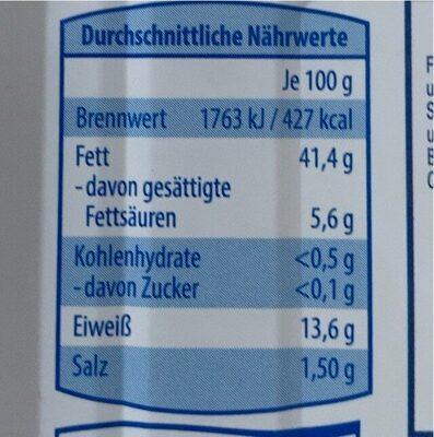 Kieler Sprotten - Nährwertangaben - de