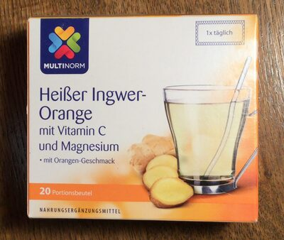 Heißer Ingwer-Orange - Product - de