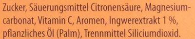 Heißer Ingwer-Orange - Ingrediënten