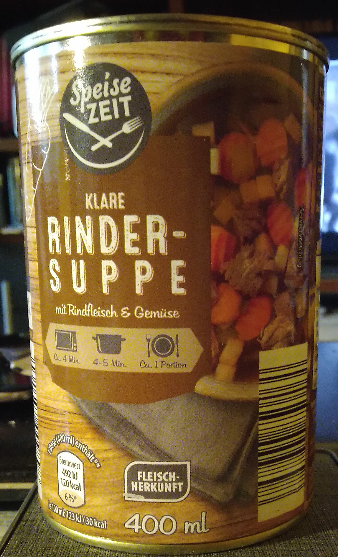 klare Rinder Suppe - Produit - de