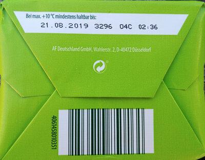 Bio-Süßrahmbutte 82% - Ingrédients - de