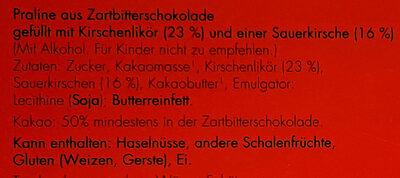 Edle Kirschen - Ingredienti - de