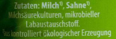 Speisequark 20% Fett i. Tr. - Ingrédients - de